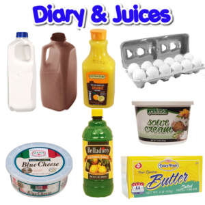 DAIRY & JUICES