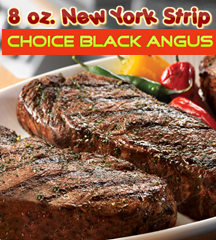 New York Strip Choice Angus 8oz