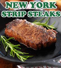 New York Strips